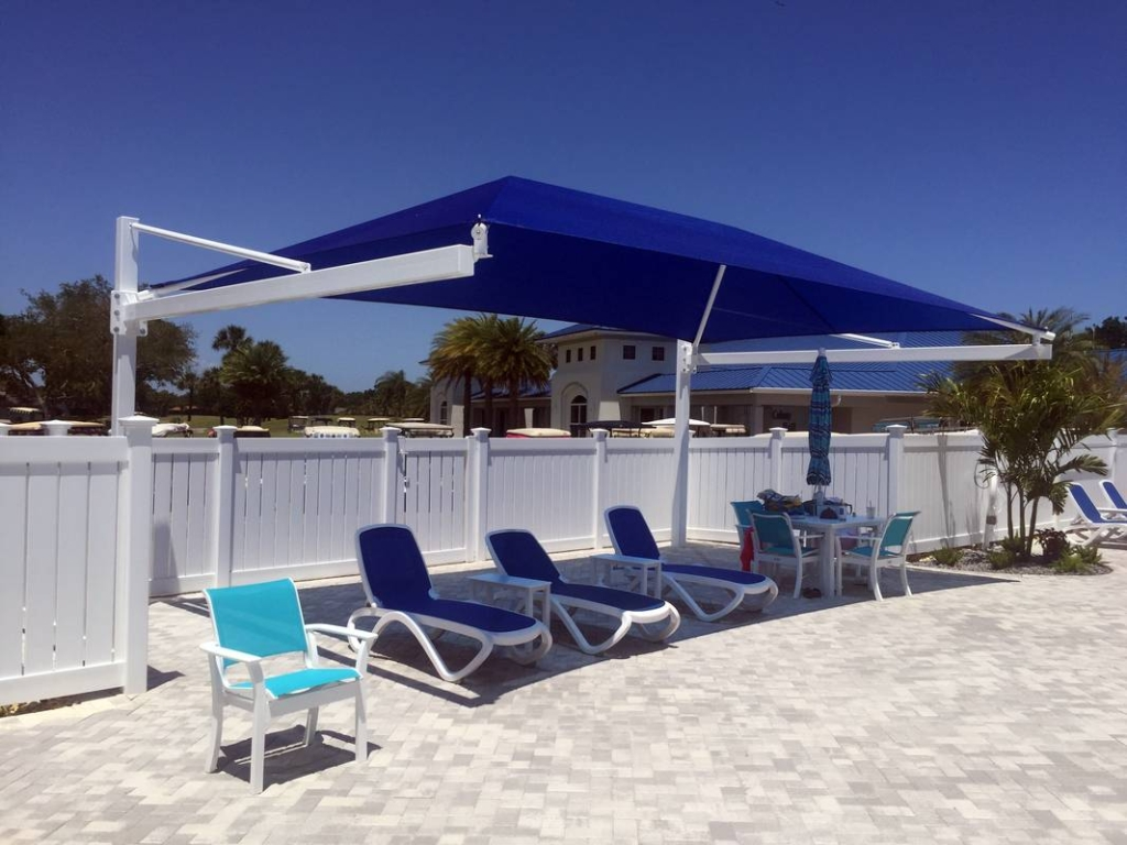 Colony Club Single Shade Structure