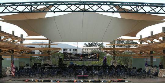 Mead Garden Grove Amphitheater - Florida Shade Company