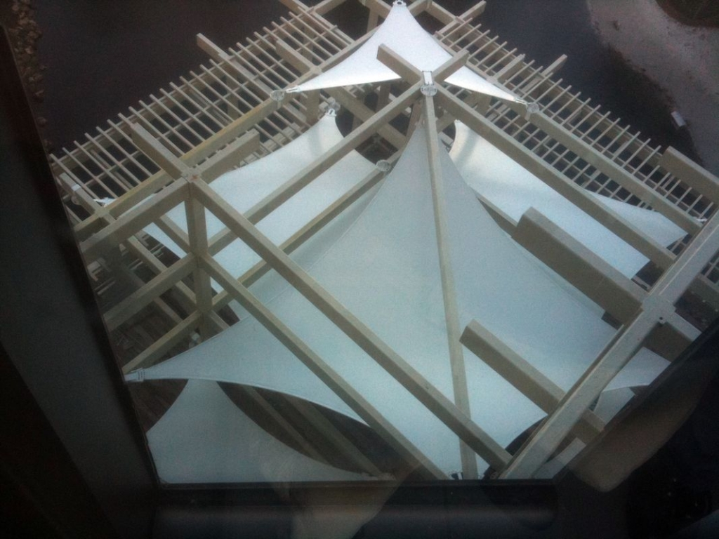 Hyatt Grand Shade Sail Structure